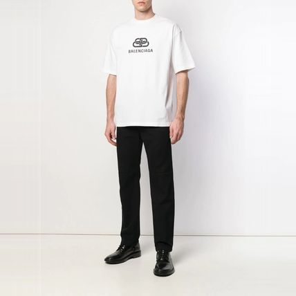 BALENCIAGA More T-Shirts Plain Short Sleeves T-Shirts 2