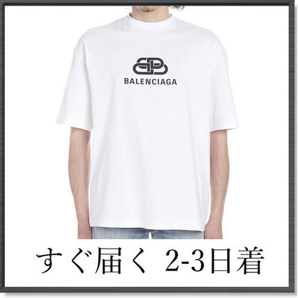 BALENCIAGA More T-Shirts Plain Short Sleeves T-Shirts