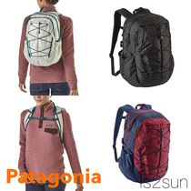 Patagonia Casual Style Street Style Plain Backpacks