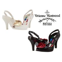 Vivienne Westwood Heart Open Toe Collaboration Pin Heels