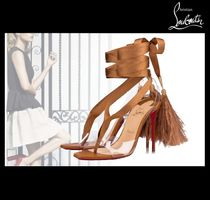 Christian Louboutin PVC Clothing Heeled Sandals
