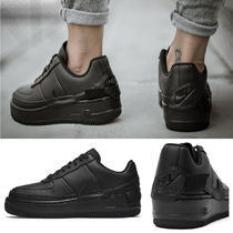 Nike AIR MAX 1 Platform Casual Style Unisex Blended Fabrics Street Style