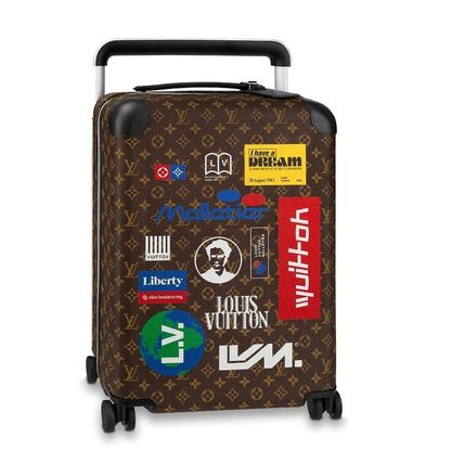 Louis Vuitton Luggage & Travel Bags Blended Fabrics Street Style Over 7 Days Carry-on 2