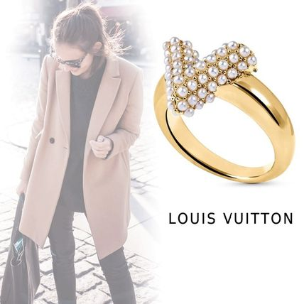 Louis Vuitton Rings Essential V Perle Ring