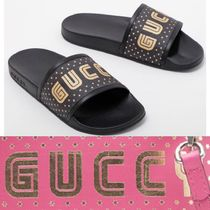 GUCCI Star Shower Shoes Flat Sandals