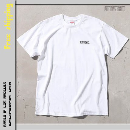 Supreme More T-Shirts Unisex Street Style Collaboration T-Shirts 2