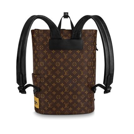Louis Vuitton Backpacks Monogram Canvas Blended Fabrics Street Style A4 2WAY 7