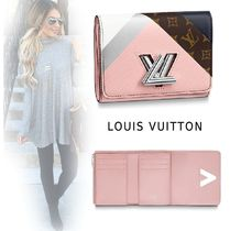 Louis Vuitton 2019-20AW COMPACT WALLET pink one size wallet