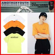 ANOTHERYOUTH Unisex Street Style Cotton T-Shirts