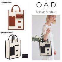 OAD NEW YORK Casual Style Street Style 2WAY Bi-color Shoulder Bags