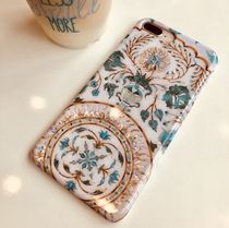 Heart Blended Fabrics Silicon Handmade Smart Phone Cases