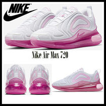 Nike AIR MAX 720 Rubber Sole Casual Style Unisex Street Style Bi-color