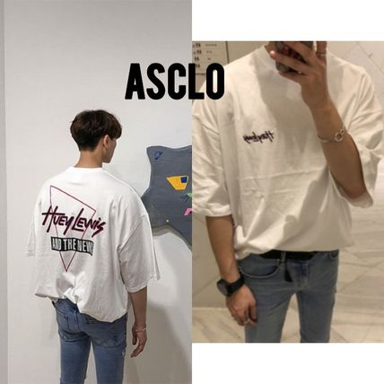 ASCLO More T-Shirts Street Style Oversized T-Shirts