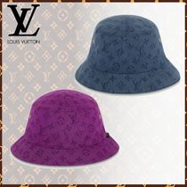Louis Vuitton Blended Fabrics Wide-brimmed Hats