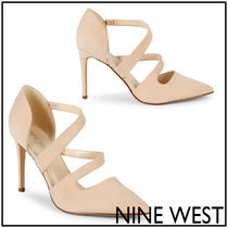 Nine West Casual Style Street Style Plain High Heel Pumps & Mules