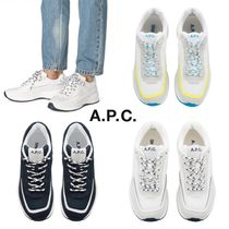 A.P.C. Casual Style Low-Top Sneakers