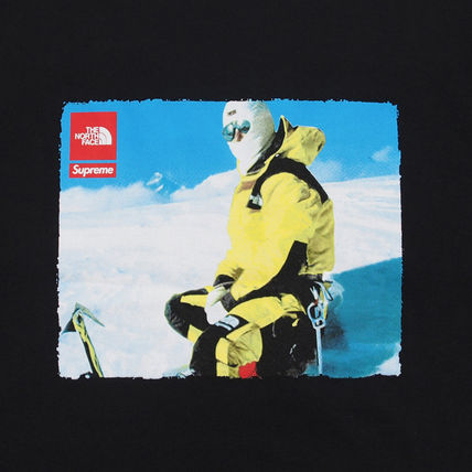 Supreme More T-Shirts Unisex Street Style Collaboration T-Shirts 6