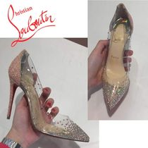 Christian Louboutin Pigalle Follies Pin Heels PVC Clothing Elegant Style