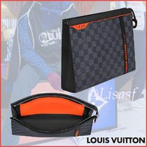 Louis Vuitton DAMIER COBALT Clutches