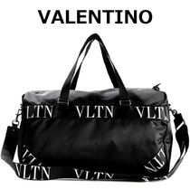VALENTINO Nylon 3WAY Logo Boston Bags