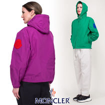 MONCLER Casual Style Street Style Bi-color Medium Jackets