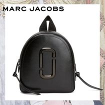 MARC JACOBS Casual Style Plain Leather Backpacks