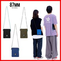 87MM Casual Style Unisex Street Style Shoulder Bags