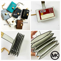 Michael Kors Leather Keychains & Bag Charms