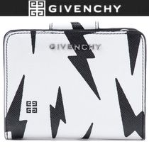 GIVENCHY Unisex Bi-color Folding Wallets