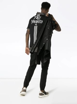 Y-3 More T-Shirts Unisex Street Style Cotton T-Shirts 3