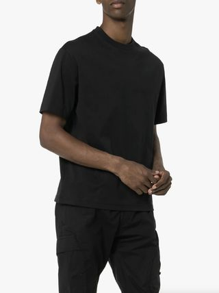 Y-3 More T-Shirts Unisex Street Style Cotton Logo T-Shirts 4