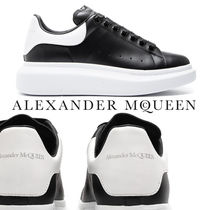 alexander mcqueen Unisex Leather Low-Top Sneakers