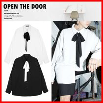 OPEN THE DOOR Street Style Shirts