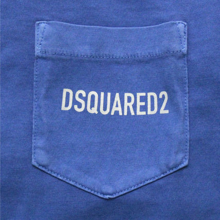 D SQUARED2 Crew Neck Crew Neck Cotton Short Sleeves Crew Neck T-Shirts 4