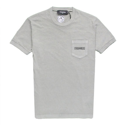 D SQUARED2 Crew Neck Crew Neck Cotton Short Sleeves Crew Neck T-Shirts 10