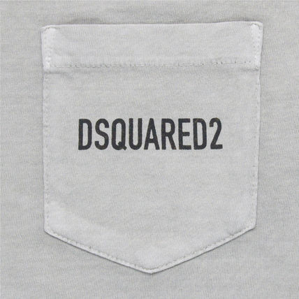 D SQUARED2 Crew Neck Crew Neck Cotton Short Sleeves Crew Neck T-Shirts 12