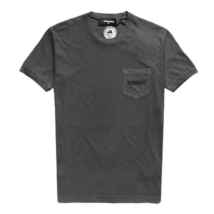 D SQUARED2 Crew Neck Crew Neck Cotton Short Sleeves Crew Neck T-Shirts 14