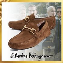 Salvatore Ferragamo Loafers Suede Loafers & Slip-ons