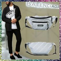 BALENCIAGA 2WAY Plain Hip Packs