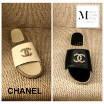 CHANEL Leather Sandals