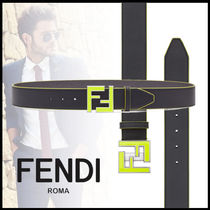 FENDI Plain Belts