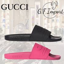 GUCCI GG Marmont Casual Style Sandals