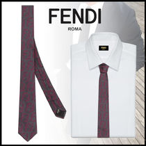 FENDI Dots Silk Ties