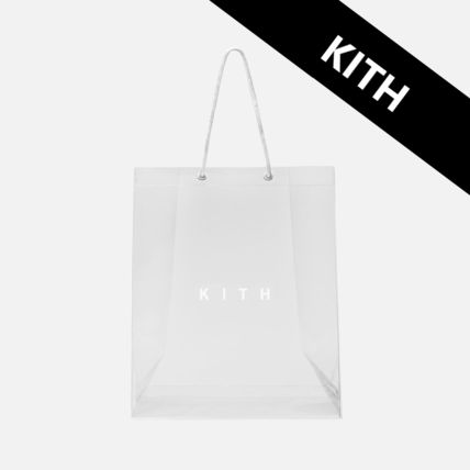 Casual Style Unisex Street Style Plain Crystal Clear Bags