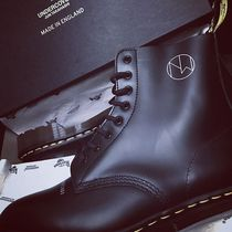 Dr Martens Collaboration Plain Leather Engineer Boots