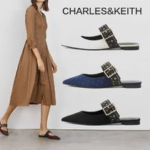 Charles&Keith Faux Fur Elegant Style Shoes