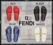 FENDI Unisex Shower Shoes Shower Sandals