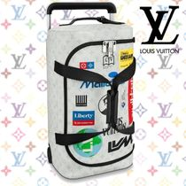 Louis Vuitton Unisex Blended Fabrics 5-7 Days Soft Type TSA Lock Carry-on