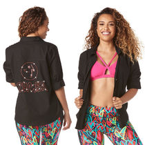 ZUMBA With Jewels Yoga & Fitness Tops