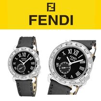 FENDI Casual Style Unisex Street Style Leather Focused Brands